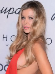 Joanna Krupa flashing her big boobs and panties at the charity auction for animals in Warsaw