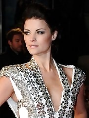 Jaimie Alexander leggy wearing a skimpy little dress at 'The Last Stand' premiere in London