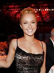 Hayden Panettiere stunning in mini dress & pantihose at the 2011 Steiger Awards in Bochum