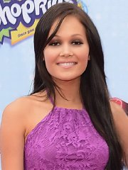 Kelli Berglund stunning in a tiny pink lace dress at 2015 Radio Disney Music Awards in LA