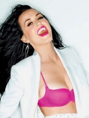Katy Perry showing off her hot body in lingerie for GQ Magazine 2014 February issue