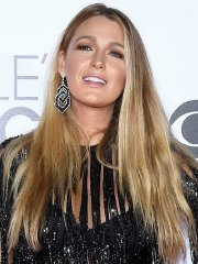 Blake Lively see-thru to bra and leggy at 43rd Annual People's Choice Awards in LA