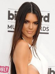 Kendall Jenner shows side-boob and ass in tiny white monokini and tight pants at 2014 Billboard Music Awards in Las Vegas