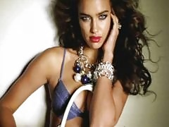 Irina Shayk is irresistibly skanky in her leopard print lingerie shoot