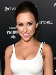 Lacey Chabert showing huge cleavage at Maxim's Hot 100 Women of 2014 celebration in West Hollywood