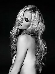 Brooklyn Decker showing off her hot big boobs in topless at Mark Squires photoshoot